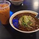 Tom Yum Fresh Beef Noodles ($6)