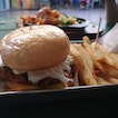 Pulled Pork Burger + Fries ($6.50)
