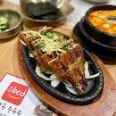 Assorted Soontofu Soup + Unagi on Hotplate Combo Meal ($35.90++)