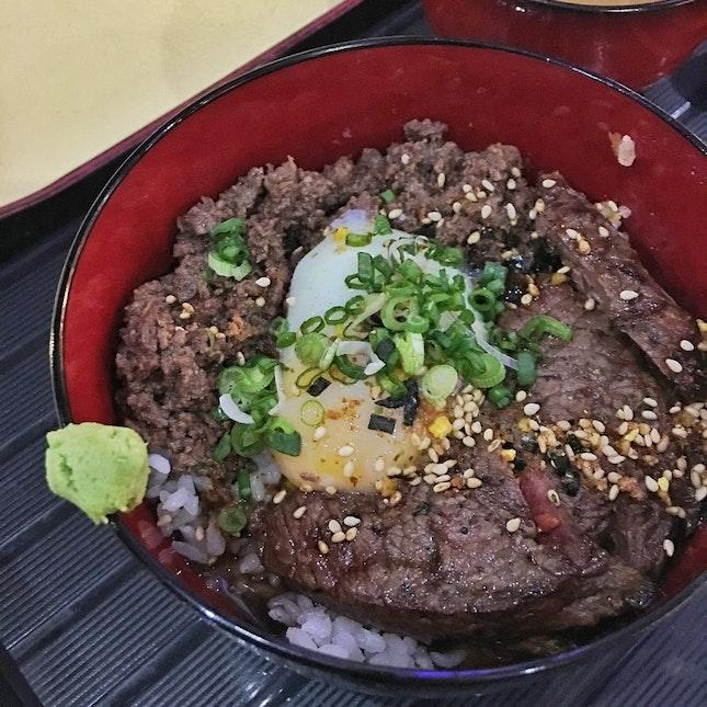 Beef Truffle Wagyu Don ($15)