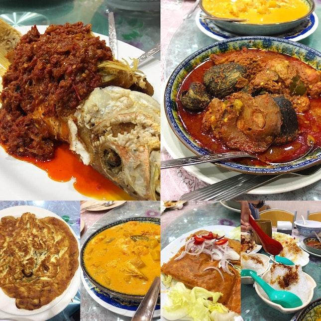 Peranakan Cuisine (~RM30 Per Pax)