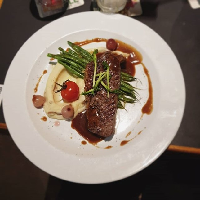 One of the better medium rare steak I have tried, that falls under the category of delicious and affordable!