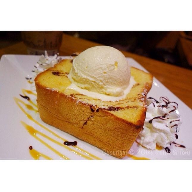 Honey toast 😍😍👍 yummy!!