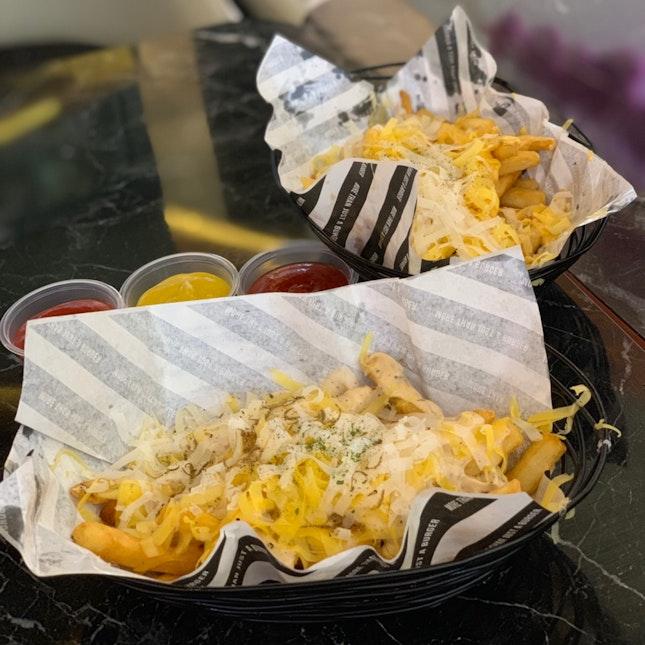 Cheese Fries & Truffle Cheese Fries