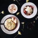 Baked Eggs, Meringue Tarts & Muesli