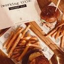 burger bar 🍔