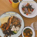 Zen Spread And Salmon Ochazuke