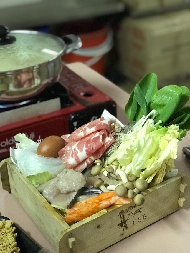 Pork Shabu Set For 2 @ SGD 28