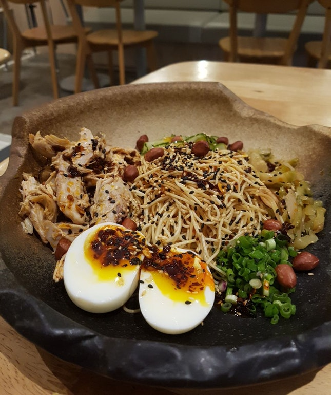 Mala Chicken Noodles ($18)
