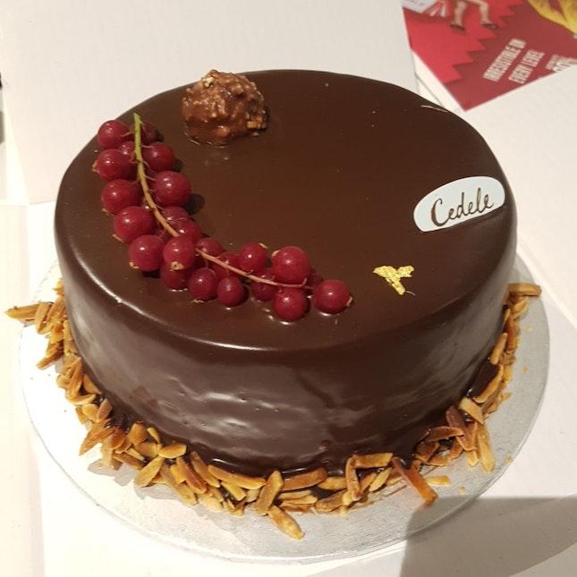 Chocolate-Matcha Cake ($8 Per Slice, $63 Whole Cake)