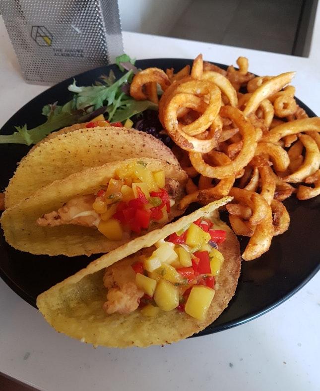 Fish Tacos ($24)