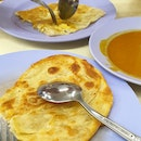 Plain ($0.90) And Egg Prata ($1.60)
