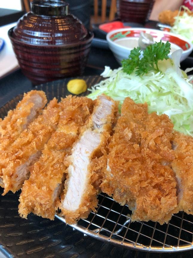 Crispy & tender Pork Loin!