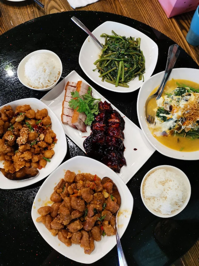 CNY lunch