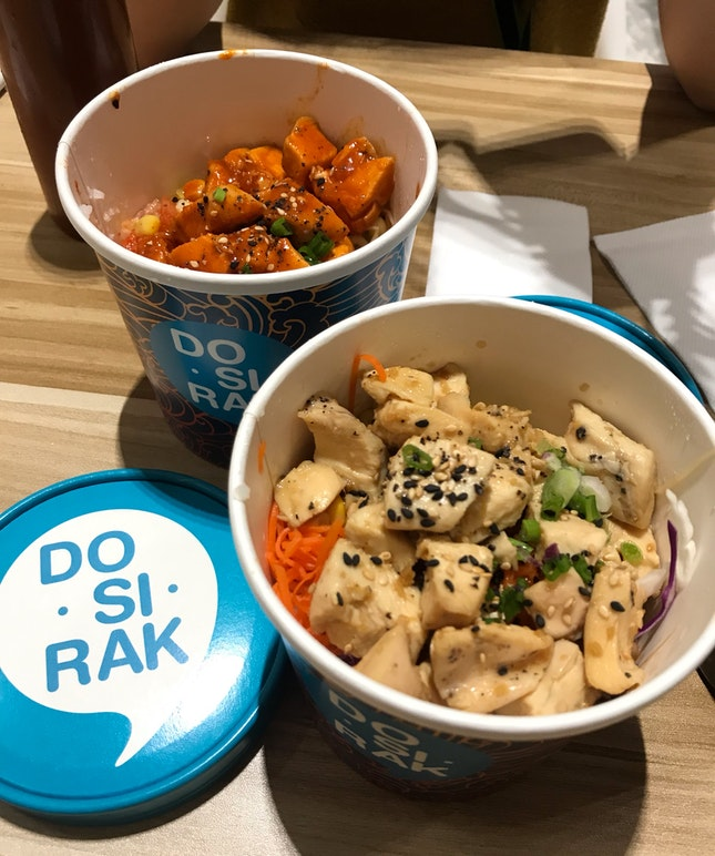 Spicy Chicken And Soy Sesame Chicken ($8.90)
