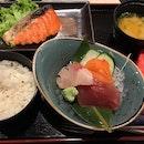 Salmon Mentaiko Set Meal ($23.80)