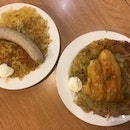 Rosti With Sausage And Fish Fillet ($10.40, $12.50)