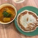 Curry Chicken With Prata ($8.50)
