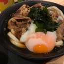 Sanuki Beef Egg Udon ($11.20)