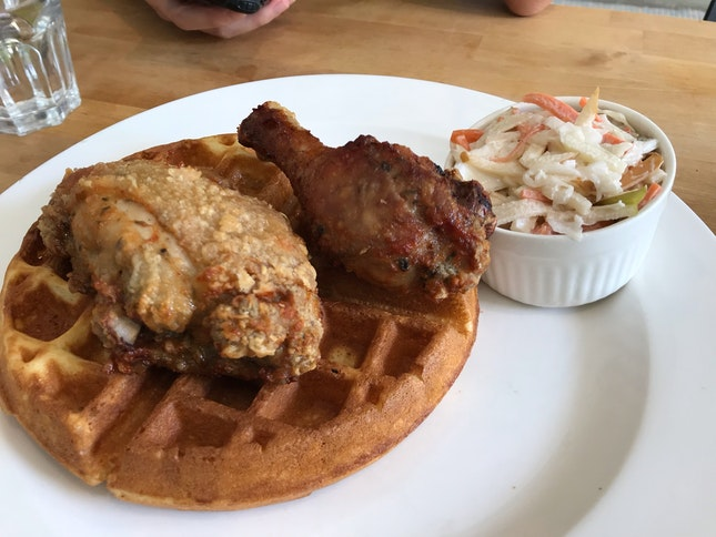 Fried Chicken And Waffles ($23)