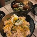 Aburi Salmon Mentaiko & Pork Belly Miso