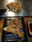 Teppan Style Okonomiyaki