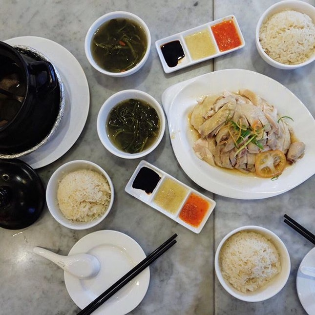 Loy Kee Famous Chicken Rice .