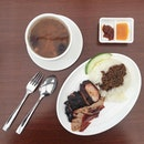 Char Siew and Roasted Duck Lunch.