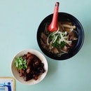 Beef Noodle and Braised Tendon.
