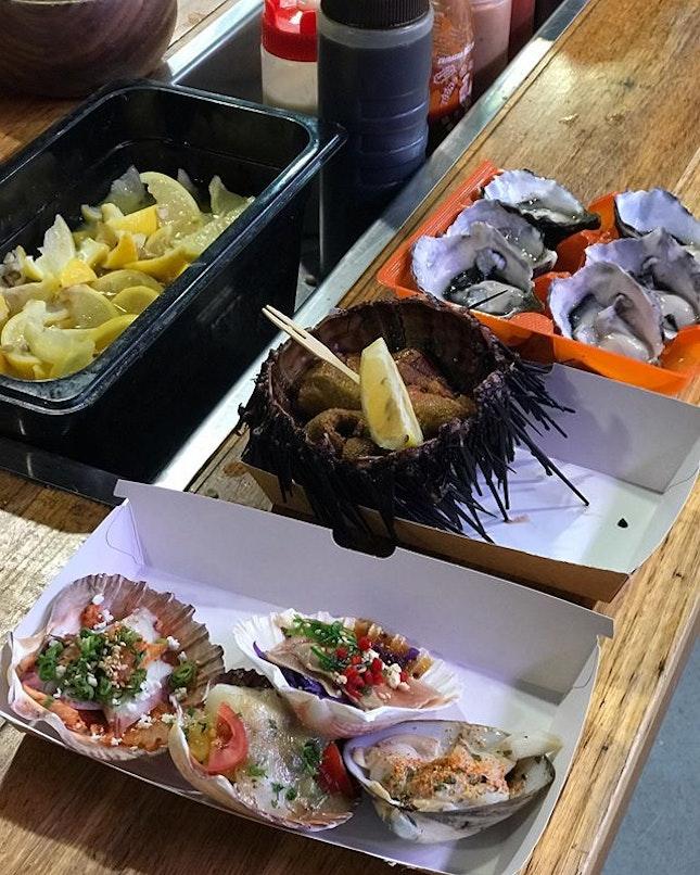 South Melbourne Market - Ocean Feast.