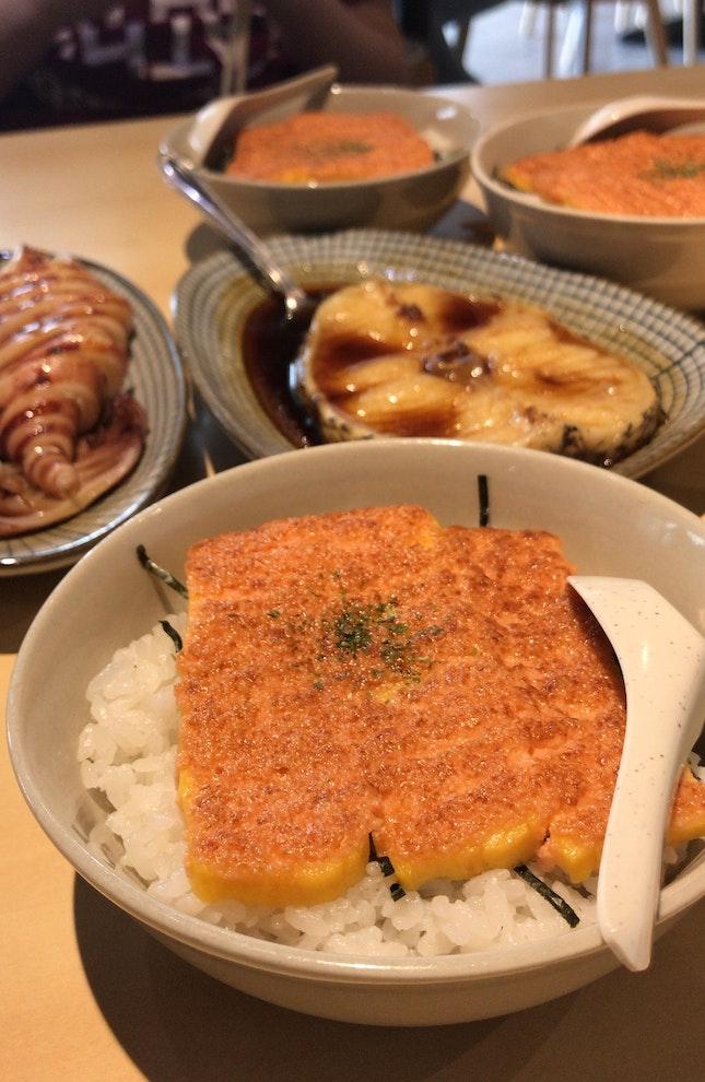 Favourite mentai rice