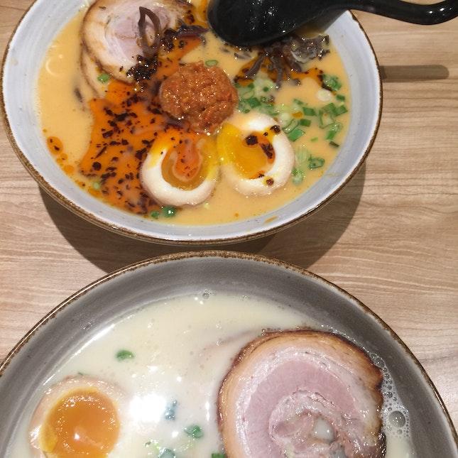 Spicy Tonkatsu & Tonkatsu Ramen