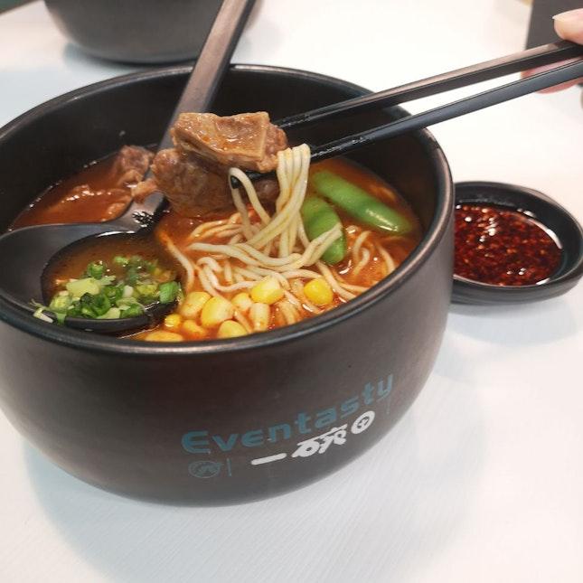 Tasty Beef Tomato Soup Base Noodle