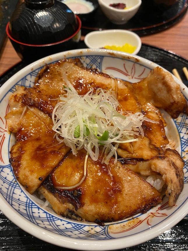 Chestnut Pork Don