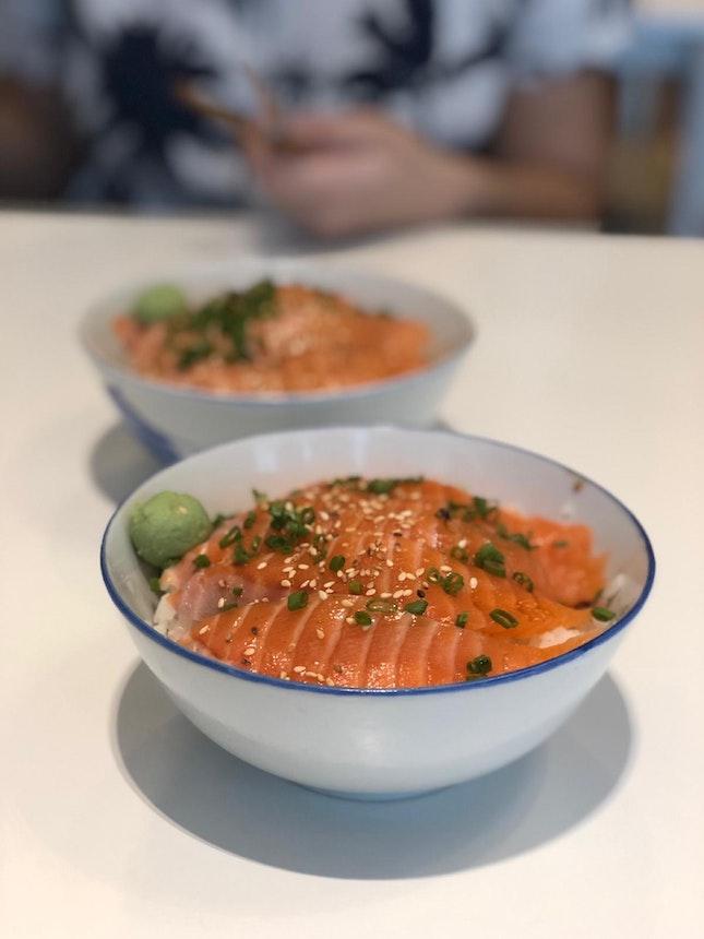 Affordable Salmon Bowls