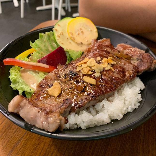 Black Angus Prime Sirloin Steak Don (200g)