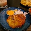 Deep Fried Buttermilk Pork Chop ($17)