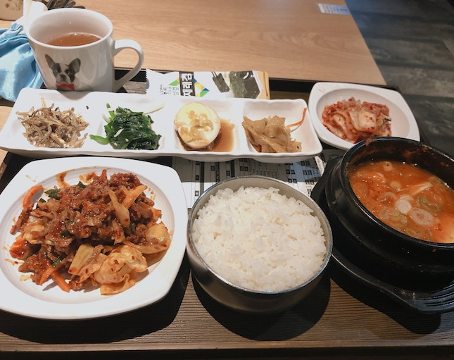 Set lunch for $12++