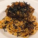 Chilli Crab Pasta ($19)