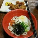 Udon With Mentaiko