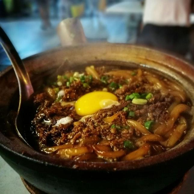 The Famous Claypot Noodle