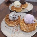 Good ice cream. Waffles are missable