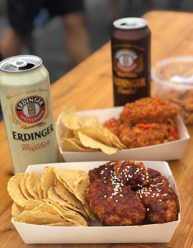 Chicken & Beer Combo