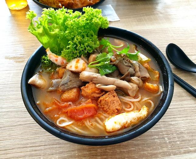 Tom Yum Noodles ($7.50)