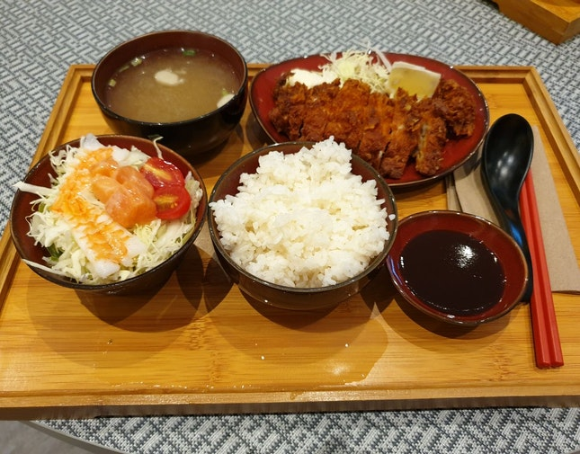 Chicken Katsu Set ($7.50)