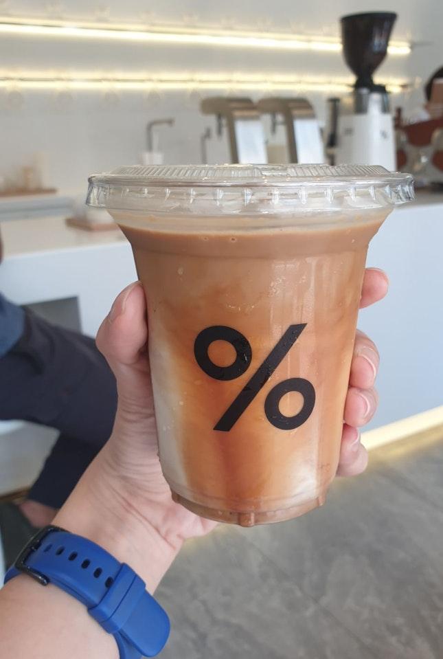 Iced Latte ($8)