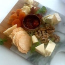 Chef's Choice of Cheese Platter ($28)