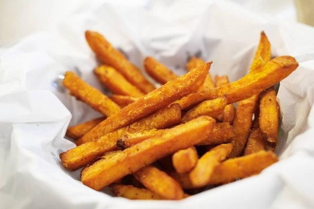 Fluffy Sweet Potato Fries