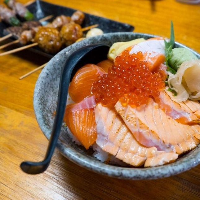 Salmon Zukushi ($23.80)