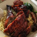 Wanton Mee With Roasted Duck